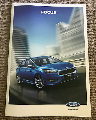 Ford Focus 2016 includes Focus ST & RS Sales Brochure