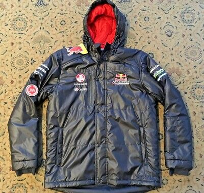 HOLDEN RED BULL RACING AUSTRALIA WARM WATERPROOF JACKET Lowndes Chinchup Adult M