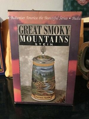 Anheuser Busch Cs297 America The Beautiful Series Stein Great Smoky Mountains
