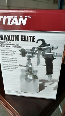 Titan HVLP Maxum Elite Pressure-Fed Spray Gun 0524027