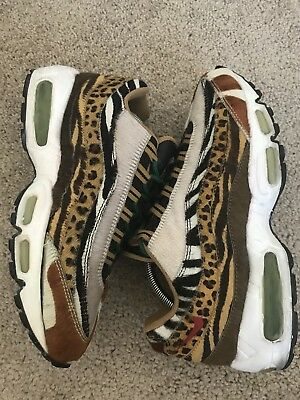 Nike Air Max 95 Supreme Safari Animal Pack 314993-261 size 9 preowned