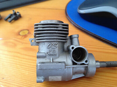 Os 26 Fourstroke Surpass Crankcase, Shaft And Bearings Piston,liner And Conrod