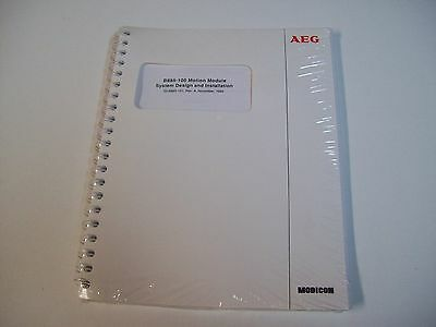 Aeg Gi-B885-101 B885-100 Motion Module System Design & Installation Manual