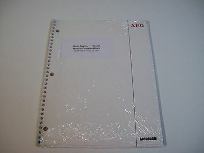 Aeg Gm-Mrtm-001 Multi-Register Transfer Module Fuction Block Manual - Free Ship