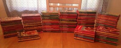 Lot of 100+ Harlequin Romance Books Vintage 1960-1980's  Used Red Edge Lot 1