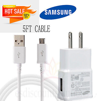 Tablet Charger for Samsung Galaxy Tab 3 4 7.0 8.0 Pro 8.4 10.1 5FT Power Cord