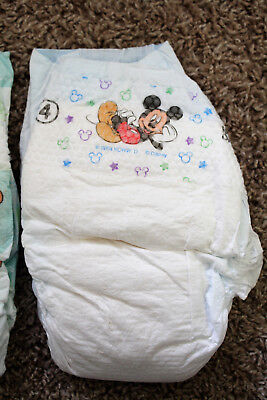 vtg 2004 huggies single diaper mickey mouse size 4