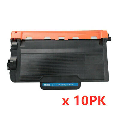 10PK TN850 Toner Cartridge High Yield For Brother TN820 HL-L6200DW MFC-L5800DW