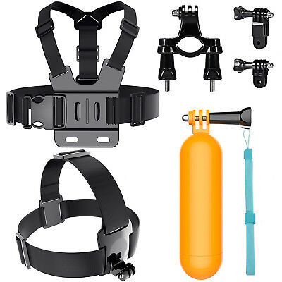 Head Chest Mount Floating Gopro Accessories Kit For GoPro Hero 2 3+4 5 6 Camera
