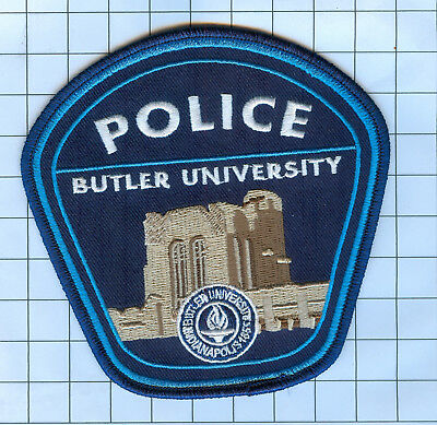 Police Patch  - Indiana - BUTLER UNIVERSITY