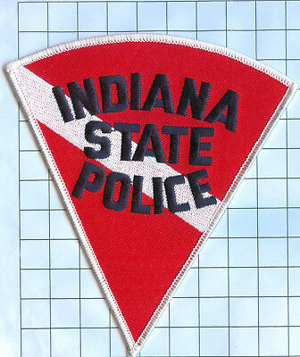 Police Patch  - Indiana - STATE POLICE
