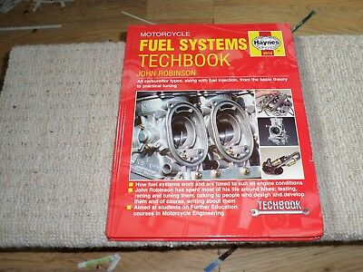 Haynes Manual 3514 Motorcycle Fuel Systems Techbook collectable book 2000