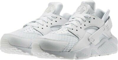 [318429 111] New Men's NIKE Air Huarache Running Sneaker - White Pure Platinum