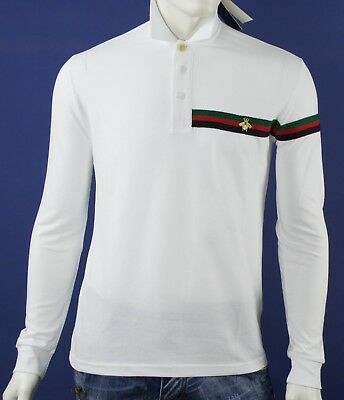 Sweater  Gucci White With Fly- Man 100% Original- Slim Fit
