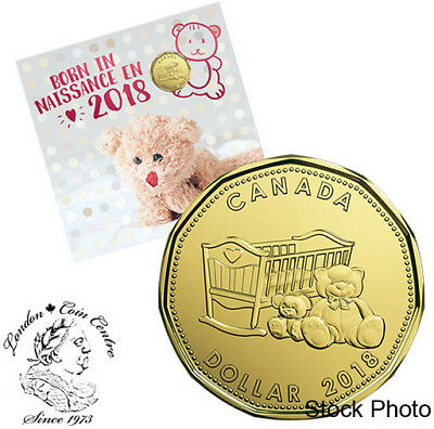 Canada 2018 Born in 2018 Baby Gift Coin Set