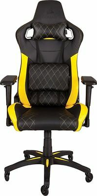 CORSAIR T1 RACE 2018 Gaming Chair — Black/Yellow