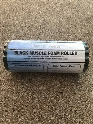 Home Treats Deep Tissue Foam Roller Muscle Massager, Trigger Point Therap... NEW