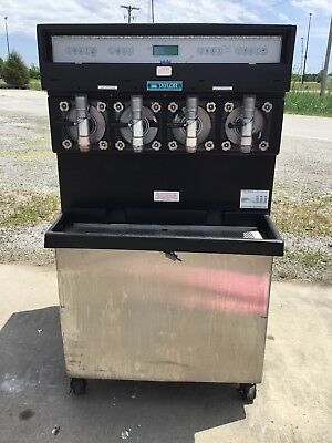 Taylor 349-27 Carbonated 4 Flavor Frozen Icee Slushie Drink Machine 1 Phase #3