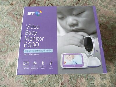 Bt 6000 Video Baby Monitor