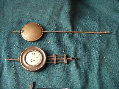 Clock  Parts. 2 Small Clock  Pendulums   .