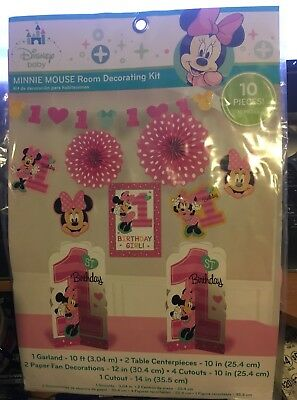 Awe Inspiring Disney Minnie Mouse Fun To Be One 1St Birthday Party Room Best Image Libraries Sapebelowcountryjoecom