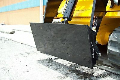 Mini Skid Steer Adaptor Plate, Weld On, Make Old Attachments Fit Your Loader