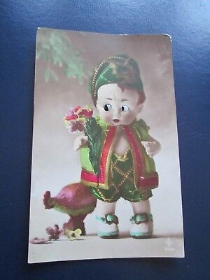 Vintage Postcard Glass Eye Novelty Series 856/5