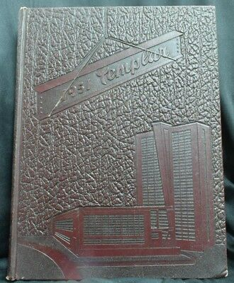 1951 Templar Temple University Philadelphia Pennsylvania Unsigned Yearbook