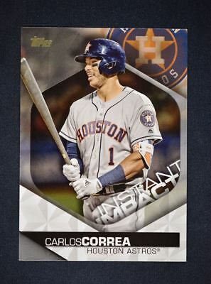 2018 Topps Series 2 Instant Impact #II-21 Carlos Correa