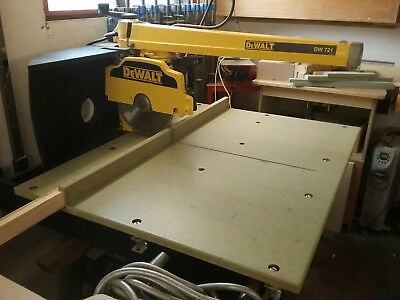 DeWalt Radial Arm Saw DW721