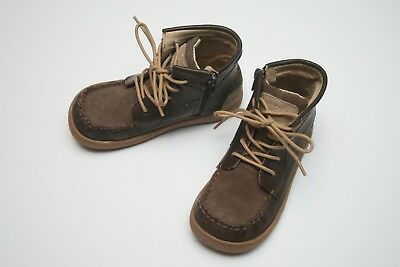 Girls Livie and Luca Unisex Vintage Brown Classic Smooth Duck Boots Size 11