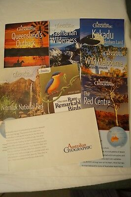 Australian Geographic - Collection of 8 - Various, Maps, Guides, Brochures