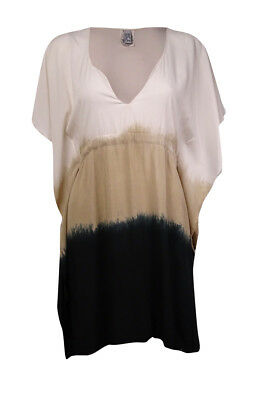 667385a560b75 BECCA BY REBECCA Virtue Women s V-Neck Tunic Poncho Cover (M L ...
