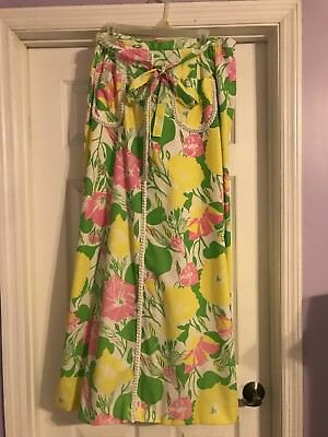 Vintage Lilly Pulitzer The Sportswear Division Maxi Skirt