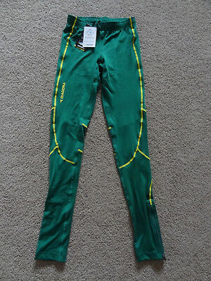 New With Tags Ladies Diadora Glasgow Commonwealth Games Training Tights - Size 6