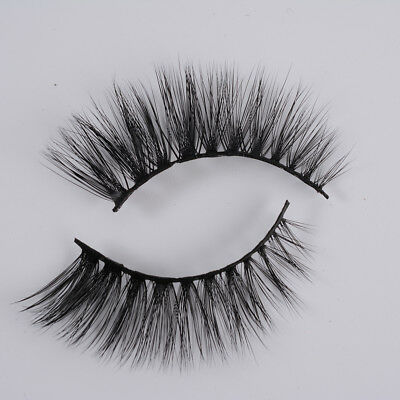100% Mink Soft Long 3D Natural Thick Makeup Feather Eye Lashes False Eyelashes
