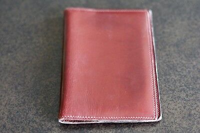 HERMES Agenda Day Planner Cover Leather / Authentic