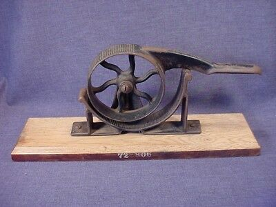 Rare Antique Cast Iron Cork Presser Sizer Pharmacology - Scientific - Medical