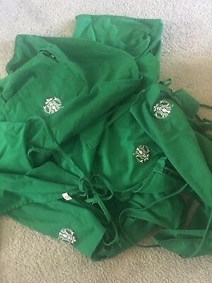 Official Starbucks Green 2 Pocket Apron - Used -