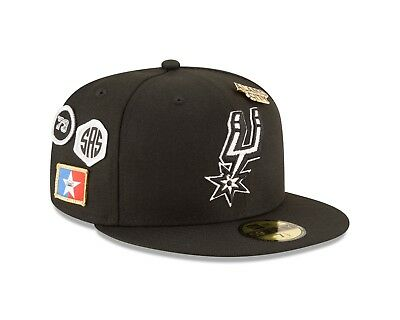 san francisco 7e47c 8f1d6 San Antonio Spurs New Era 2018 NBA Draft Cap 59FIFTY Fitted Hat – Black