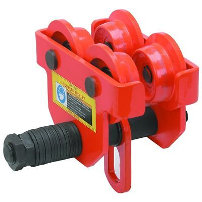 """Push Beam Trolley 1Ton Adjustable Use With I-beam flange width 2-11/16"""" to5-1/8"""""""