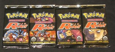 Pokemon Cards - 1x 1st Edition Team Rocket Booster Pack - SEALED