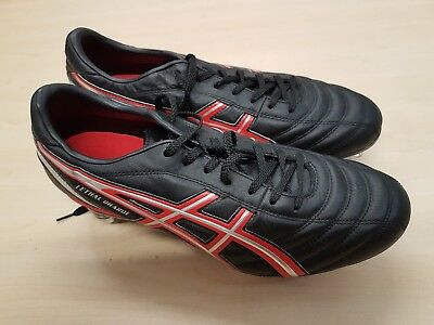 Asics Lethal Charge Metal Studs Rugby Boots Size UK 10
