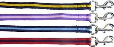 Horse Nylon Blend Two Tone Lunge Rein/ Lead - 8.0 Metre & Quality Swivel Snap