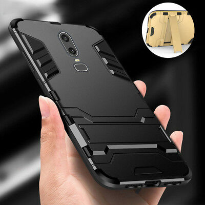 best website 3daf1 0c00f FOR ONEPLUS 6 5T 5 3T Luxury Shockproof Hybrid Duty Rugged Hard Case Stand  Cover
