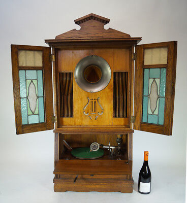 Unique Huge Mammut  Coin Operated Phonograph Gramophone