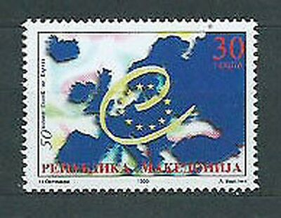 Macedonia - Mail Yvert 160 Mnh Council of Europe