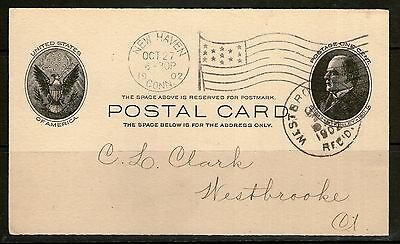 1902 United States of America Postal Card #6 - Stoddard, Gilbert & Co.  - Used
