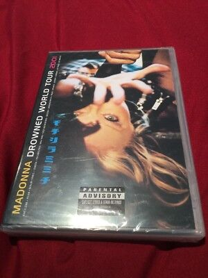 Madonna Drowned World Tour 2001 Warner Music Vision Region Free Dvd New & Sealed