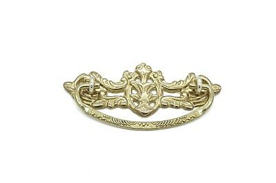 "Drawer Pulls Furniture Drawer Pulls 3"" Cc Solid Cast Brass Antique Style"